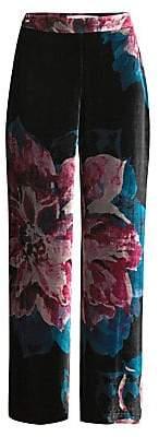 Trina Turk Women's Casa Mexico Penelope Wide-Leg Pants