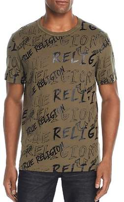 True Religion Logo Mania Graphic Tee