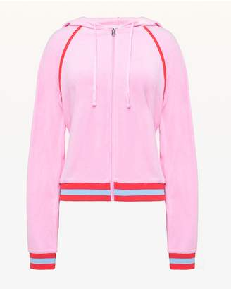 Juicy Couture JXJC Juicy Logo Microterry Jacket