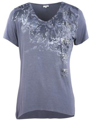 Deha V-NECK T-SHIRT GARMENT DYED T-shirt