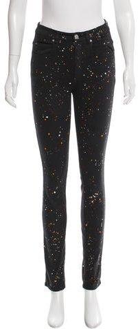 Isabel MarantIsabel Marant Splatter Paint Skinny Jeans