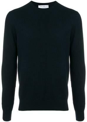 Salvatore Ferragamo ribbed knit jumper