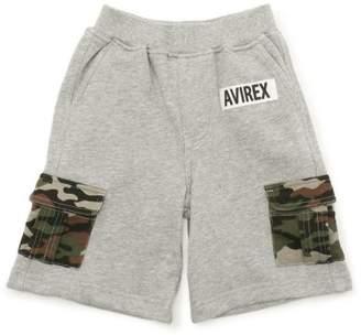 Avirex (アヴィレックス) - AVIREX AVIREX/アヴィレックス/ 裏毛 カモフラージュポケット ショーツ