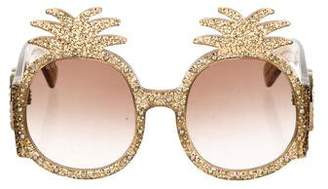 Gucci GG Pineapple Sunglasses