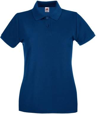 Fruit of the Loom Ladies Lady-Fit Premium Short Sleeve Polo Shirt (XXL)