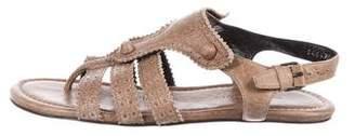 Balenciaga Slingback Thong Sandals