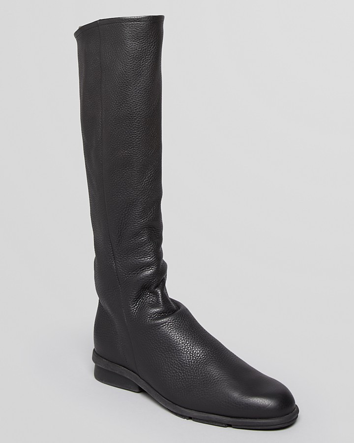 Arche Tall Flat Boots - Delith