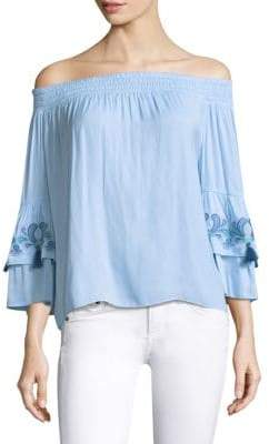 Lilly Pulitzer Tobyn Off-the-Shoulder Top