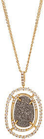 """Melinda Maria Simulated Druzy Pendant with 30""""Chain-Barrymore"""