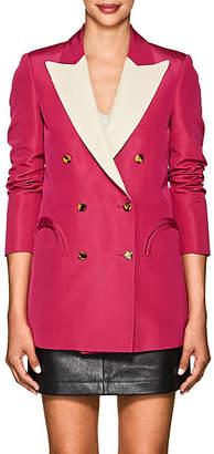 BLAZÉ MILANO Women's Everyday Silk Faille Blazer - Fushia