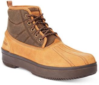 Barbour Men's Mr. Duck Casual Boots $169 thestylecure.com