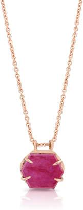 Farah Enji Studio Jewelry 14k Gold & Ruby Pendant