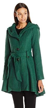 Steve Madden Women's Single Breasted Wool Coat
