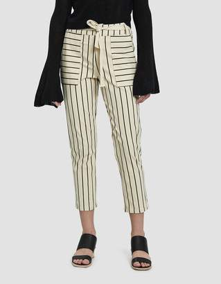 Stelen Mable Striped Pant in Cream