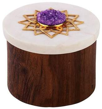 """Mela Artisans Ring Box """"Noor"""""""