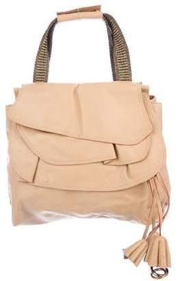 Marc Jacobs Leather Ruffle Handle Bag