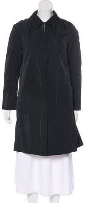 Nina Ricci Knee-Length Collared Coat