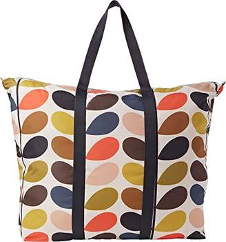 Orla Kiely Classic Stem Foldaway Travel Bag