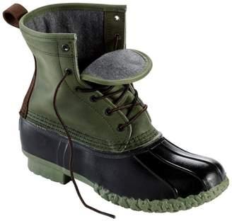 "L.L. Bean Men's Small Batch L.L.Bean Boot, 8"" Leather Chamois-Lined"