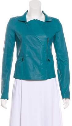 Chanel 2016 Leather Moto Jacket