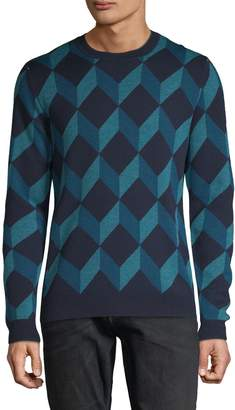 Saks Fifth Avenue Crewneck Merino Wool Sweater