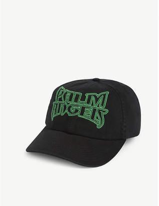 Palm Angels Metal logo cotton baseball cap