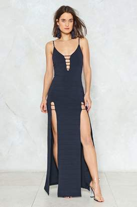 Nasty Gal Split the Difference Maxi Dress
