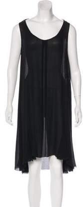 Ralph Lauren Silk Sleeveless Mini Dress