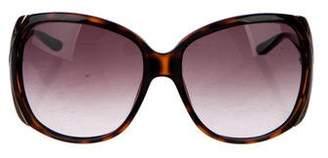 Christian Dior Opposite 1 Oversize Sunglasses