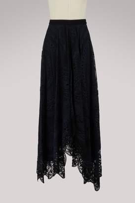 Chloé Lace skirt