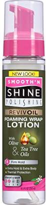 Smooth 'N Shine Smooth N Shine Olive and Tea Tree Revivoil Moisturizing Wrap/Set Mousse