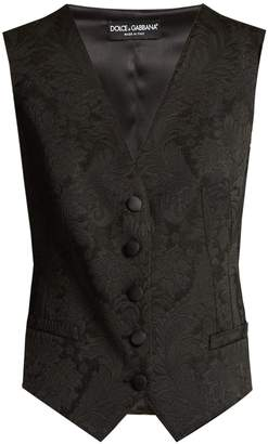 Dolce & Gabbana Buttoned brocade waistcoat