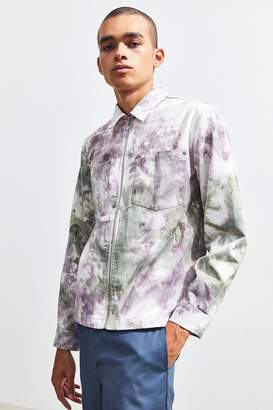 Urban Outfitters Tie-Dye Utility Zip Over Shirt