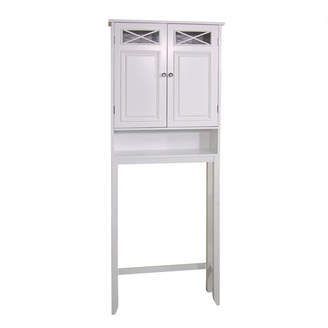 "Co Darby Home Coddington 25"" W x 68"" H Over The Toilet Storage"