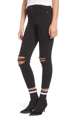 Topshop Jamie Ripped Jeans