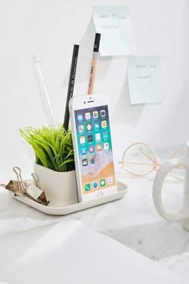 Kikkerland Design Potted Pen Phone Stand