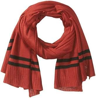 Orchid Row Women's Prep Stripe Jersey Knit Basic Scarf O/S