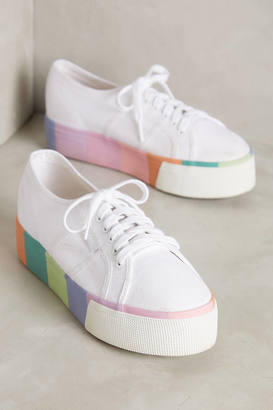 Superga Pastel Platform Sneakers $88 thestylecure.com