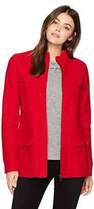 Pendleton Women's Boiled Wool Military Jacket