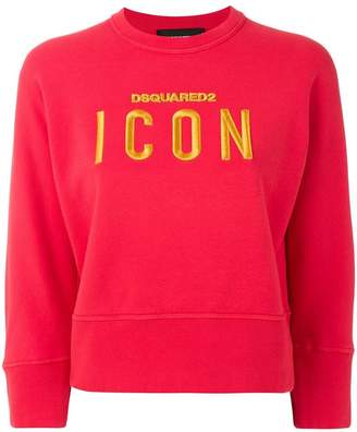 DSQUARED2 embroidered Icon sweatshirt