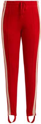Etoile Isabel Marant Doriann stripe-trimmed track pants