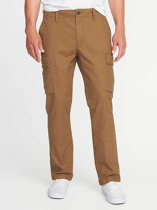 Old Navy Straight Lived-In Built-In Flex Cargos for Men