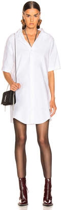 Alexander Wang Off the Shoulder Chain Dress in White | FWRD