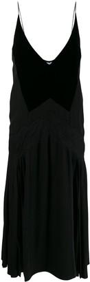 Givenchy flared slip dress