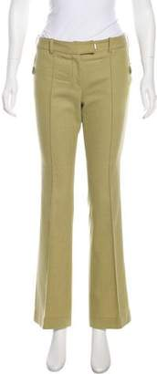 John Galliano Mid-Rise Wool Pants