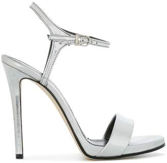 Marc Ellis cross strap sheen sandals