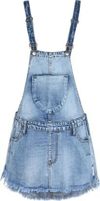 One Teaspoon ONE x ONETEASPOON Overall skirts