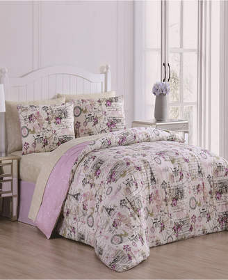 Geneva Home Fashion Jelena 8-Pc King Bed in a Bag Bedding