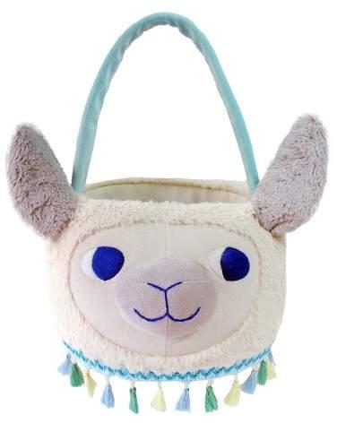 Spritz Easter Llama Plush Basket