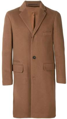 Officine Generale single-breasted buttoned coat